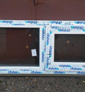 Готовое Новое пластиковое окно