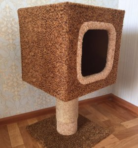Кошачий домик- когтеточка
