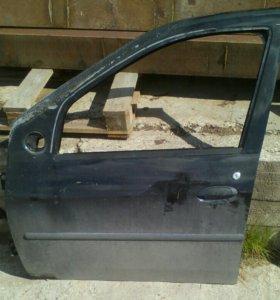 Дверь передняя левая Renault Logan Рено Логан 2012