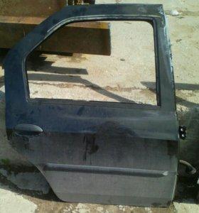 Дверь задняя правая Renault Logan Рено Логан 2012