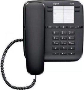 Проводной телефон GIGASET DA310, черный, новый