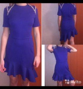 "Синее платье ""love republic"""