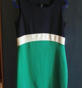Трёхцветное платье