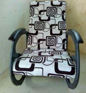 Кресло качалка Релакс, рогожка 55