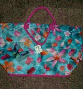 Летняя, пляжная сумка
