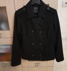 Шерстяная куртка-пальто colins