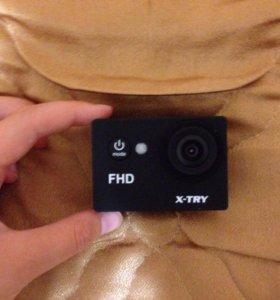 Новая спортивная экшн-камера X-TRY