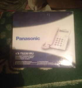 Телефон Panasonic KX-TS2351RU новый