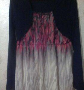 Платье очень красивая ,шифон