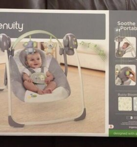 Электронные качели для малыша Ingenuity