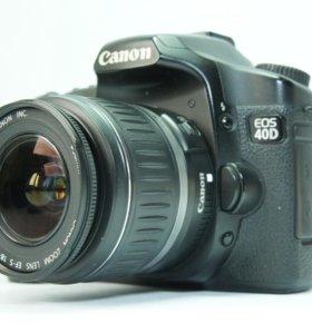 Фотоаппарат Canon 40D с объективом 18-55 II USM