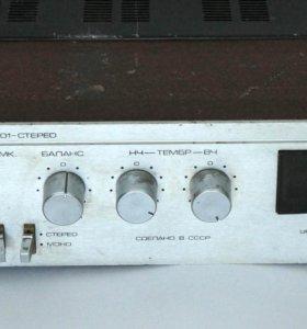 Усилитель Radiotehnika У-101-стерео