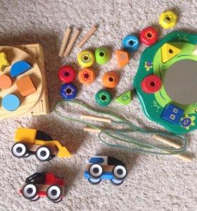 Деревянные игрушки I'm toy, IKEA, Томик