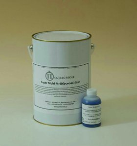 силиконовая резина super mold m 40