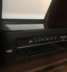 Принтер МФУ epson xp-225 с снпч