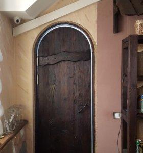 Дверь арочная.