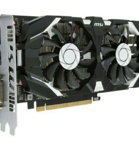 Видеокарта MSI GeForce GTX 1050 Ti 4GB OC DualFan
