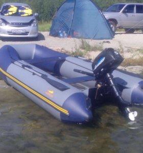 Лодка марлин 3,3 м надувной киль