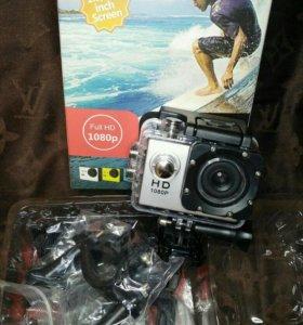 Экшн камера Sports Full HD1080 новая
