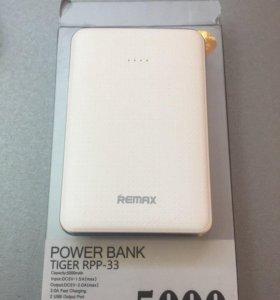 Аккум. портативный Remax Tiger RPP-33 5000mah