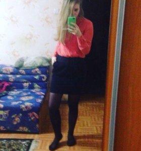 Блузка + юбка!