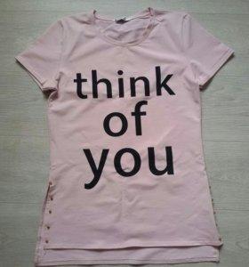 Удлиненная футболка