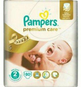 Памперс Pampers premium care 2