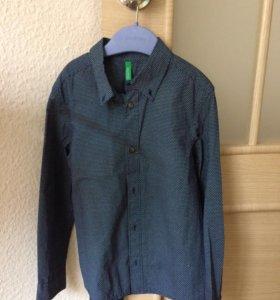 Рубашкамновая хлопок на 120 см S