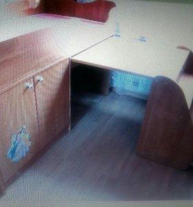 Кровать Приют- мини 3+матрац