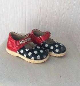 Туфли для девочки 21 размер
