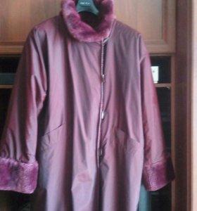 Куртка- полупальто. р.48-50.