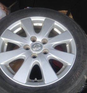 Диски Toyota r16