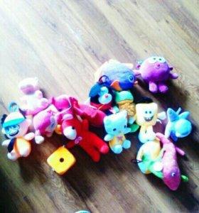 Мягкие игрушки. Срочно надо продать!!!!