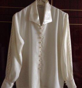 Продаю шелковые блузки (50-52)
