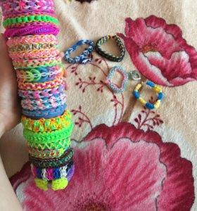 Браслеты из резинок Rainbow loom
