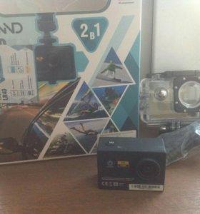 Lexand lr40 регистратор + экшн камера