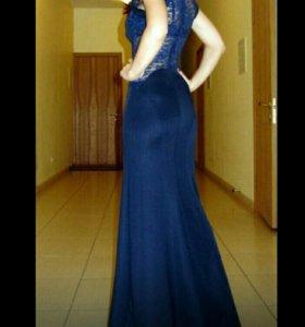 Вечернее платье в пол бу