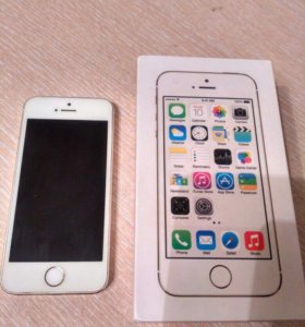 iPhone 5s gold.