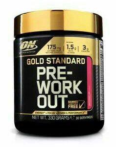 Pre- workout gold standard optimum nutrition
