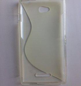 Чехол силиконовый на Sony c2305