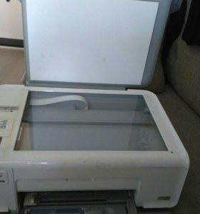 Принтер HP цветной