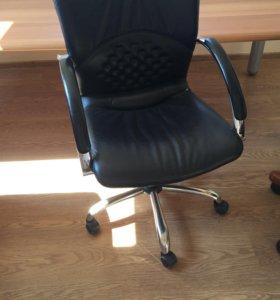 Кресла офисные кожа натуральная