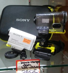 Экшн камера Sony Splashprof Exmor R 13,5 m.p