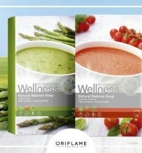 ПП Суп Wellness два вкуса: томат и спаржа