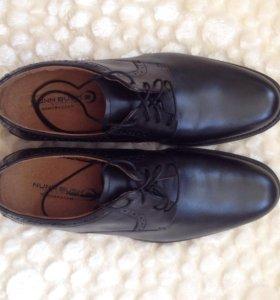 Новые кожаные ботинки Nunn Bush