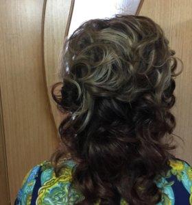 Причёски,стрижки,окрашевание