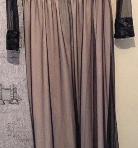 Платье в пол (XS, S)