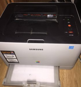Samsung CLP-365 принтер цветной, лазерный