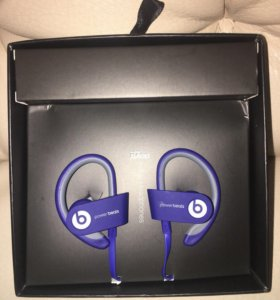 Hаушники Powerbeats wireless black, blue