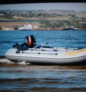 """Лодка ПВХ моторонная """"Адмирал-350"""" с оборудованием, мотор """"Tohatsu M9,8BS"""
